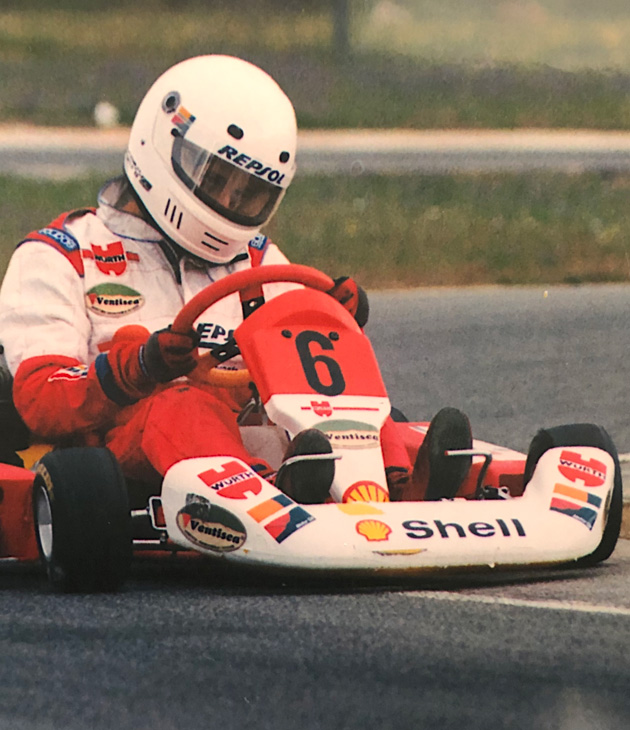 Pedro Moleiro - Karting first race