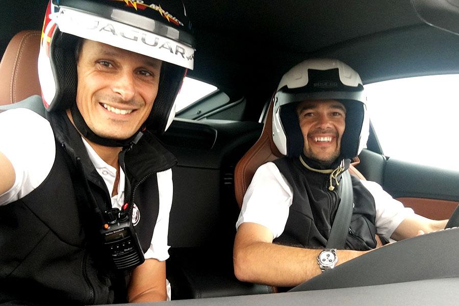 Pedro Moleiro Instructor - Jaguar I-Pace