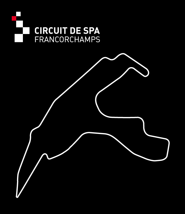 Spa-Francorchamps Racetrack and logo